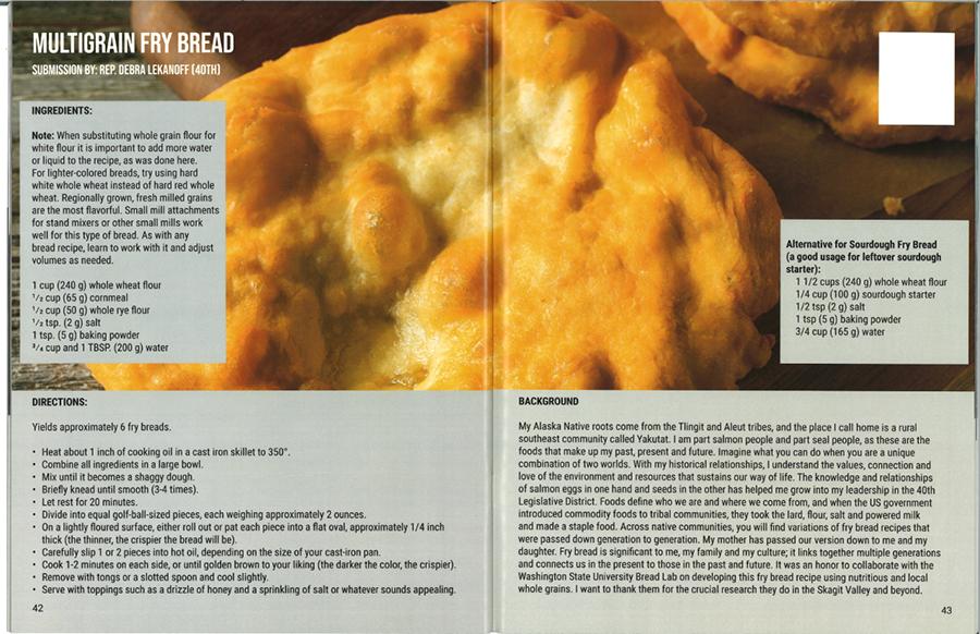 Rep. Lekanoff's fry bread recipe