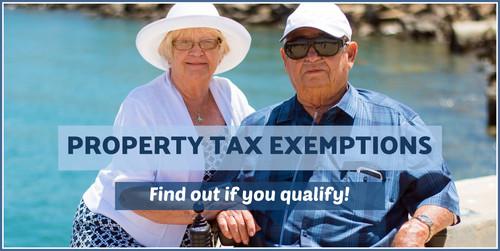 Senios tax exemptions