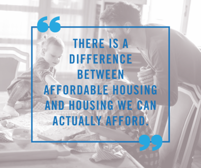 affordable housing quote