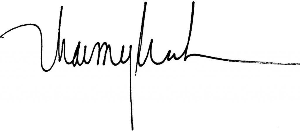 Rep. Thai signature