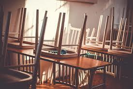chairs on tables