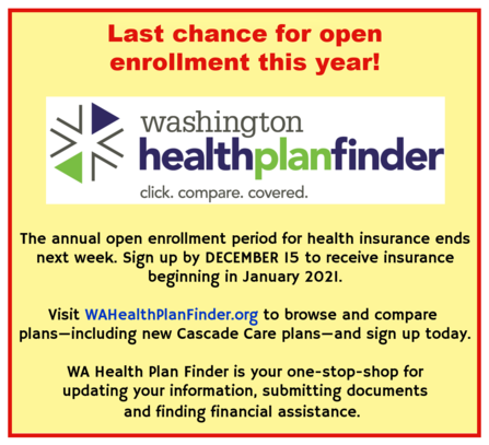 WA Health Plan Finder reminder