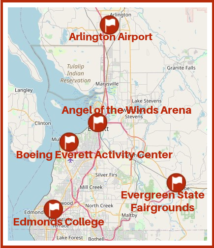 Vaccination sites in snohomish