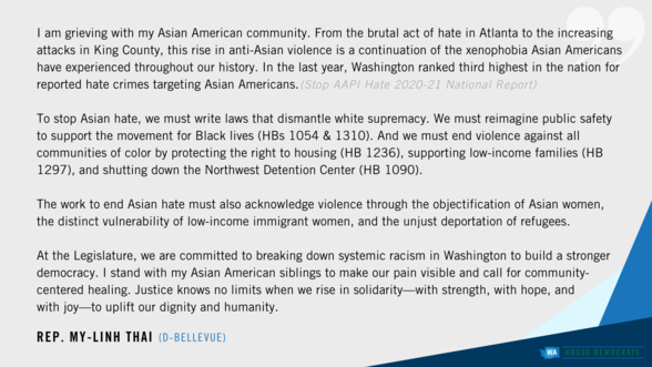 Rep. MLT statement