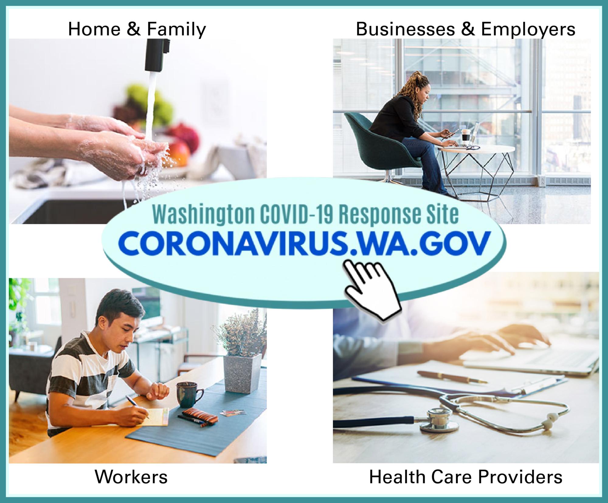 coronavirus wa gov art