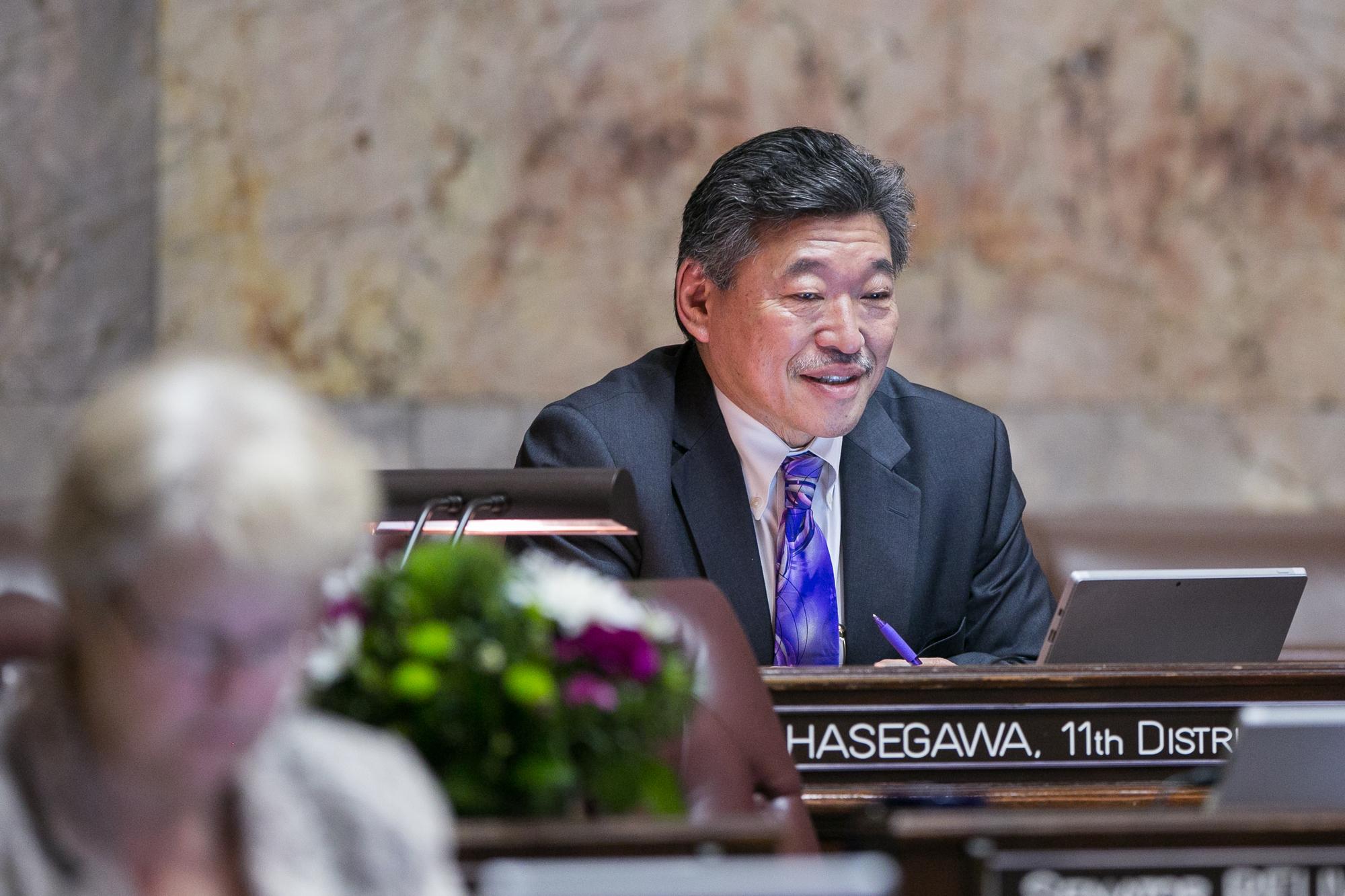 Hasegawa in committee
