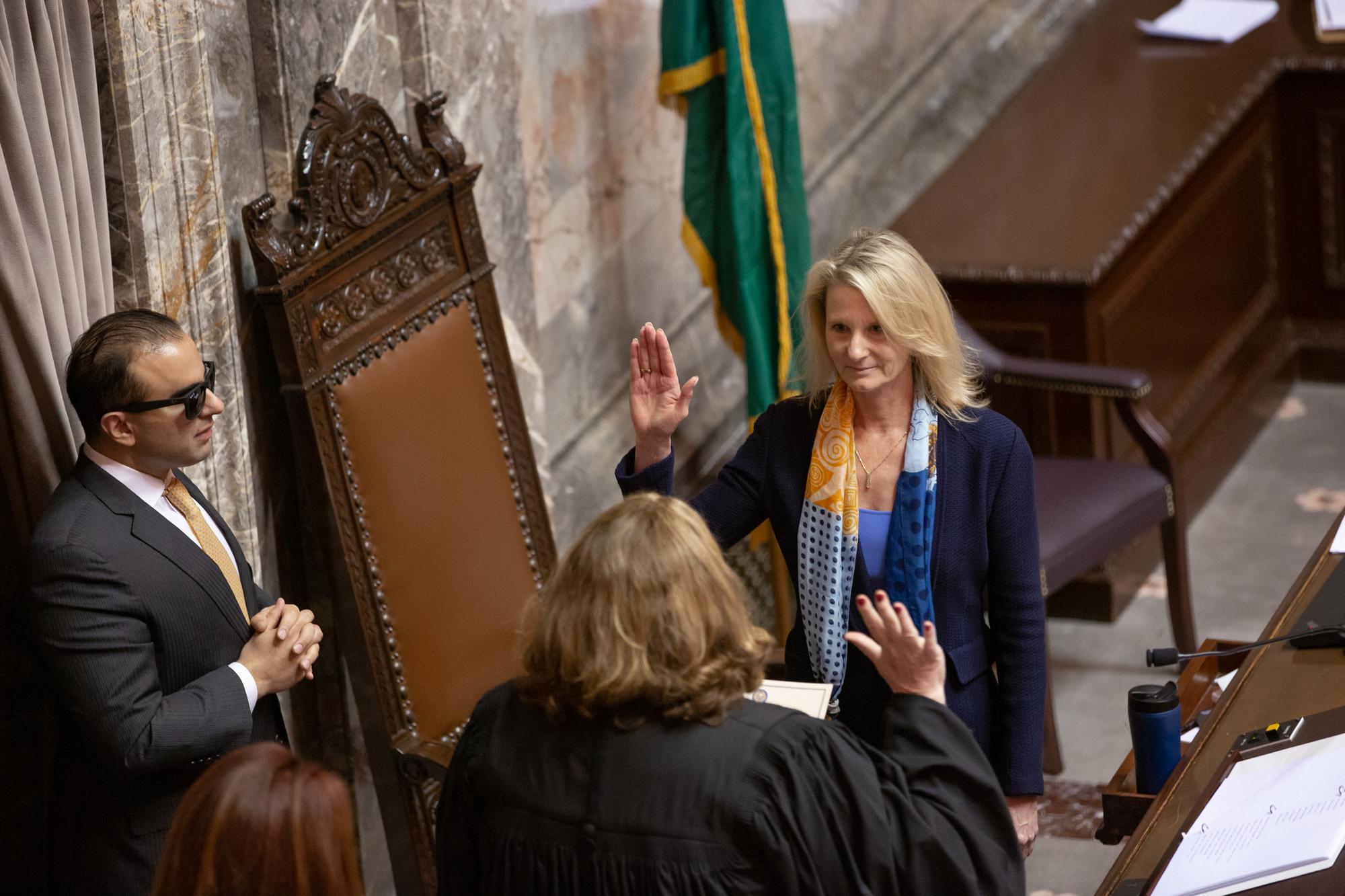 Kuderer Sworn In