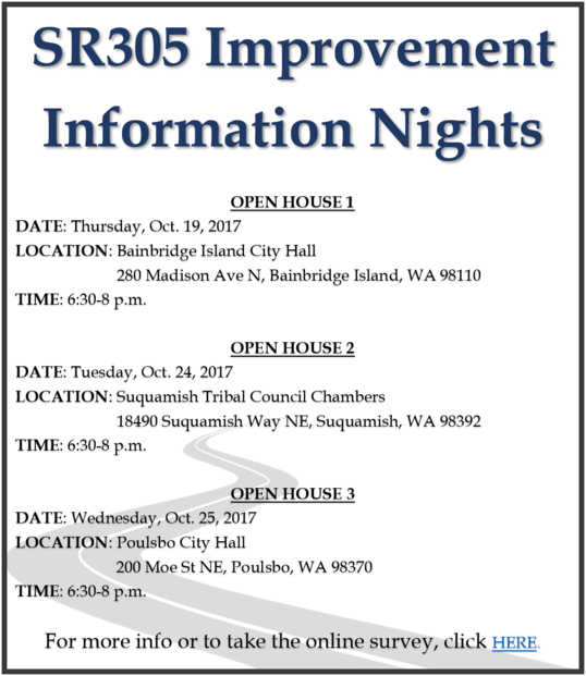 305 Information nights