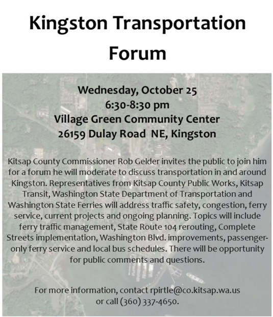 Kingston Transportation Forum
