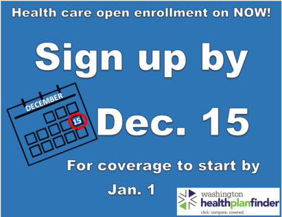 Enroll by Dec 15 2017