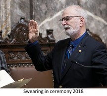 swearing in