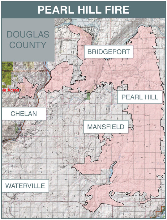 Pearl Hill fire map (revised)