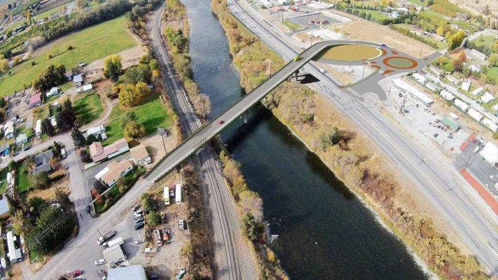 West Cashmere Bridge image