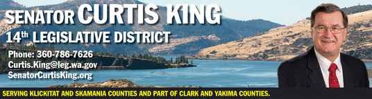 Sen. King e-newsletter banner