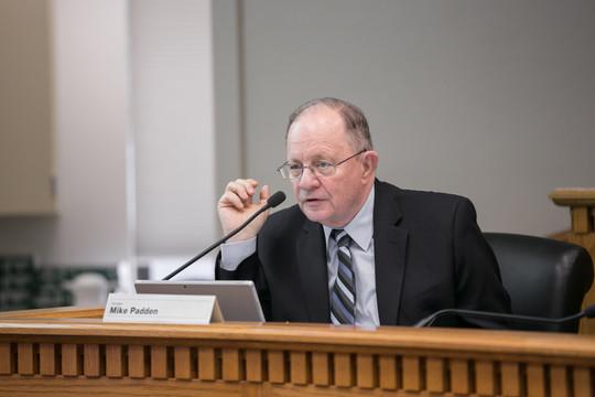Padden in committee