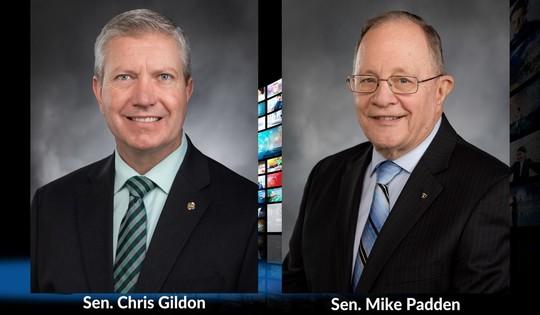 Sens. Gildon and Padden