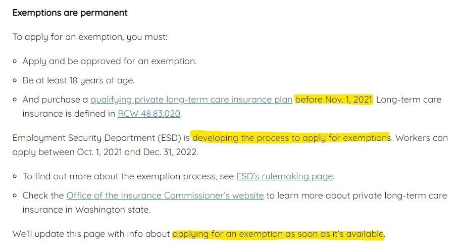 long term care website
