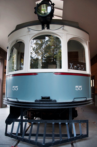 Trolley Car #55