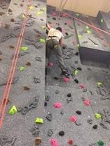Nick climbing