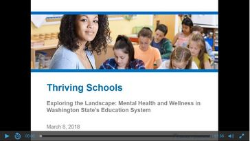 Exploring the Landscape: Mental Health and Wellness in Washington State's Education System