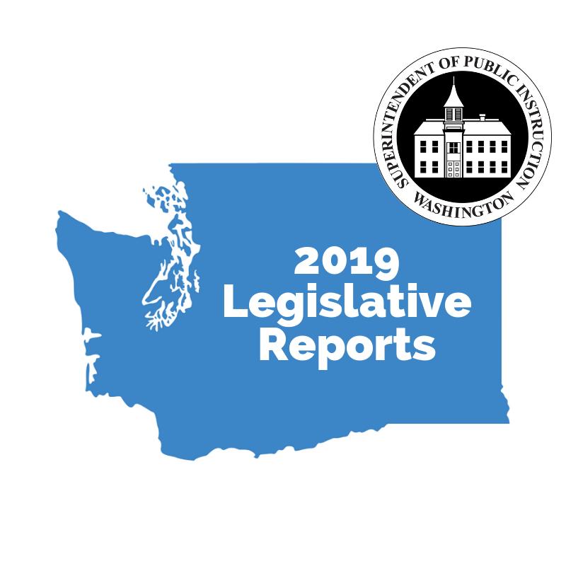 2019 Legislative Reports