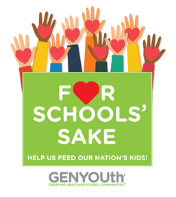GENYOUth For Schools' Sake Grant Logo