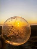 Lightbulb Sunset