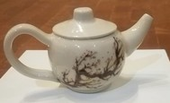 Cherry Blossom Tea Pot
