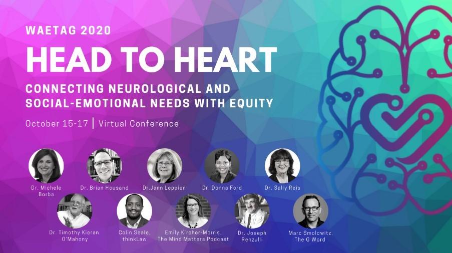 WAETAG 2020 Head to Heart Virtual Conference Icon