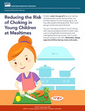 USDA Reducing Choking Hazard Worksheet