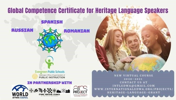 Global Competence Certificate for Heritage Language Speakers