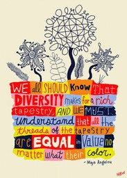 Diversity Quote-Maya Angelou