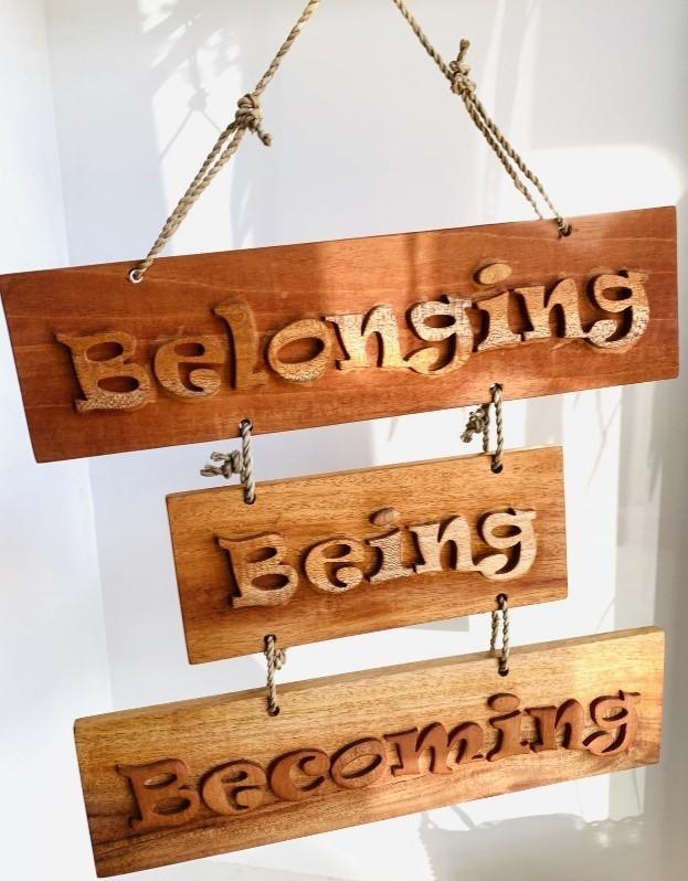 Belonging becoming being