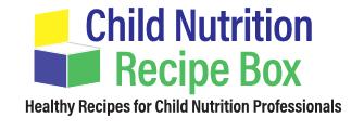 Child Nutrition Recipe Box Logo