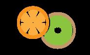 Kiwi and Orange