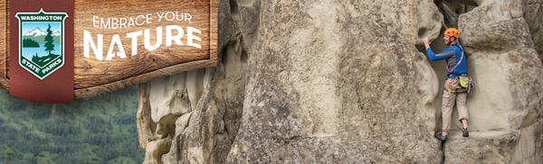 Rock climbing header