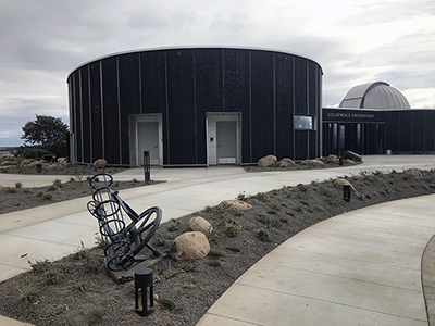 Goldendale Observatory - new building with dome