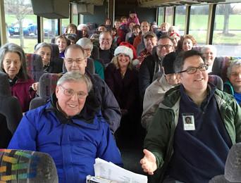 December's bus tour