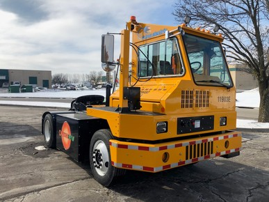 electric terminal tractor.