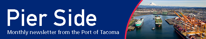 Pier Side, monthly newsletter from the Port of Tacoma