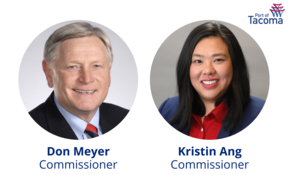 commissioners Meyer and Ang