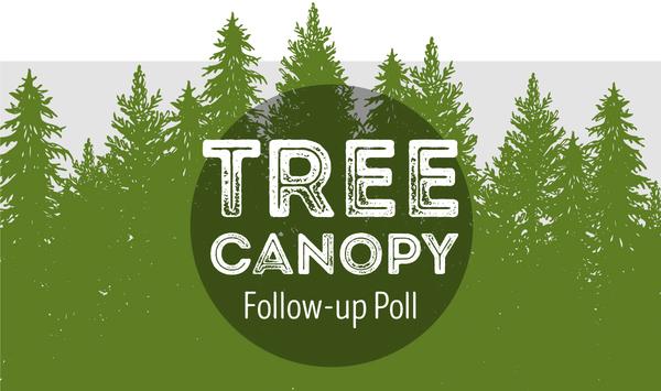 Tree Canopy Follow-up Poll