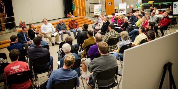 Neighborhood Conversation from 10/5/14 at Ben Rush Elementary