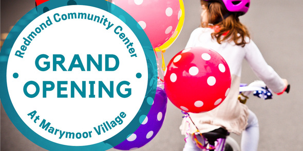 Community Center Grand Opening
