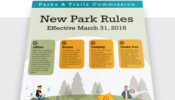 Park Rules flyer