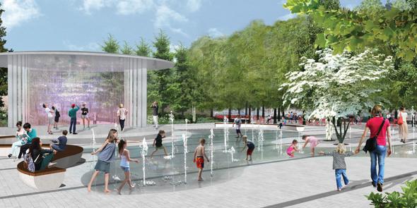 Downtown Park rendering