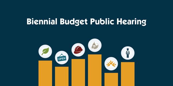 Biennial Budget Public Hearing