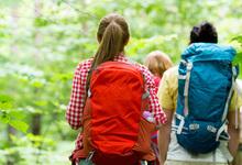 Hiking Teens