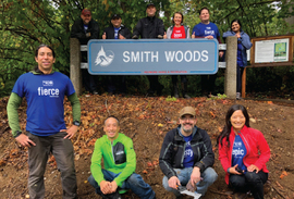 Volunteers at Smith Woods Park