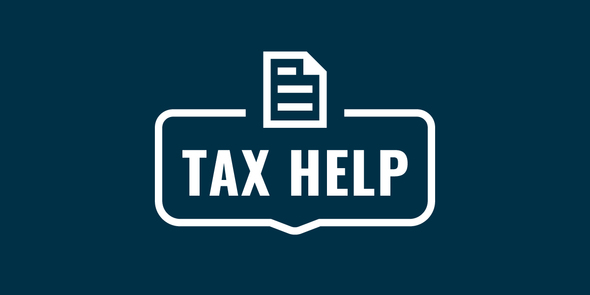 Tax help icon